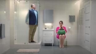 Леруа Мерлен «Кто ищет ванную»